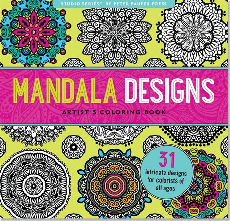 mandala coloring book price mandala designs coloring book 31 stress relieving designs