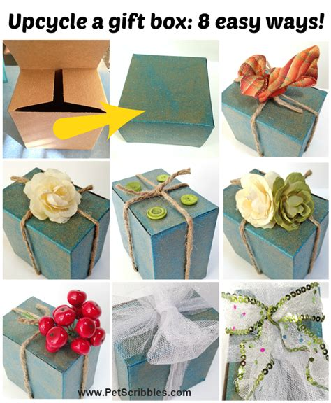 decorate gift box ideas 8 easy ways deja vue designs