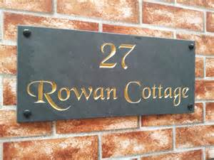 house names house name sign address plaque 450mm x 200mm