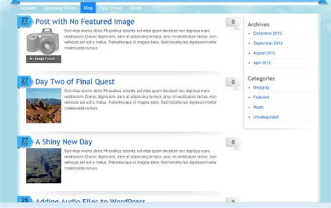 wordpress tutorial list how to set a default featured image in wordpress using a
