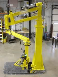 Robot Pedestal Pneumatic Manipulators Designed And Built To Eliminate