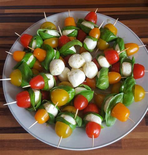 tomate mozzarella schön anrichten tomaten mozzarella spie 223 e chefkoch de