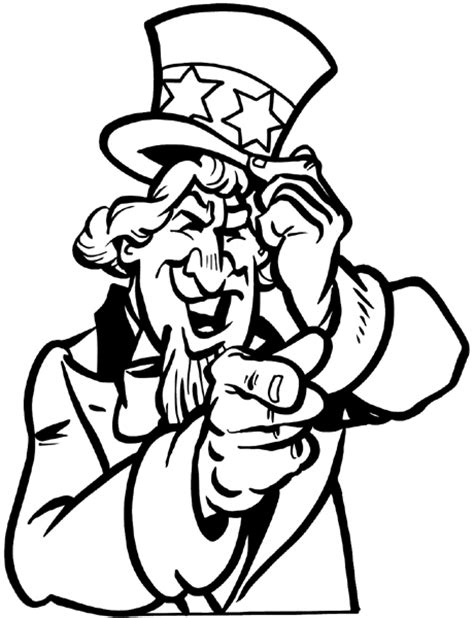 uncle sam wants you coloring page signspecialist com beevault decals uncle sam wants you