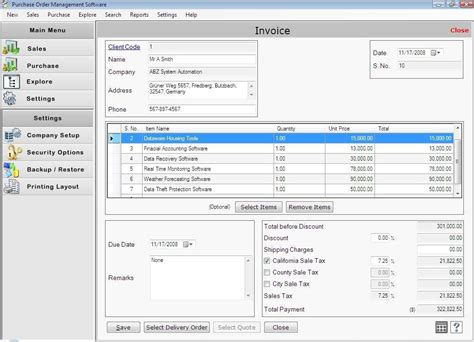 purchase order management software create po system manage