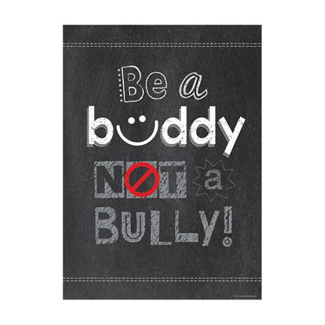 School Poster   Be a buddy NOT a Bully! Anti Bullying