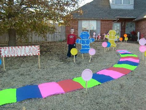 Candyland Outdoor Decorations by Land Decorations