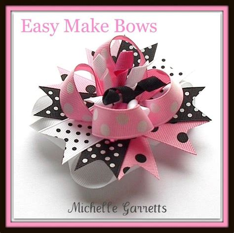 free instructions for boutique hair bows how to make girls ribbon hair bow instructions step by
