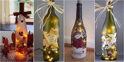 decorar botellas de vidrio vintage decorar con botellas de cristal decoracin con botellas de