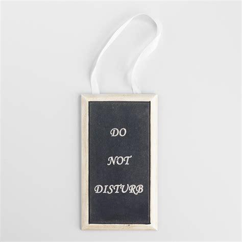 Do Not Disturb Door Hanger by Do Not Disturb Bathroom Door Hanger World Market