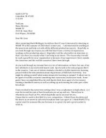 Cover Letter Journalism by Sle Cover Letter Sle Cover Letter For Broadcast Journalism Internship