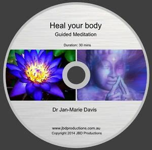 Guided Meditation Cd To Heal Your Body By Jan Marie