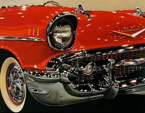 hyper realistic car paintings by cheryl kelley art