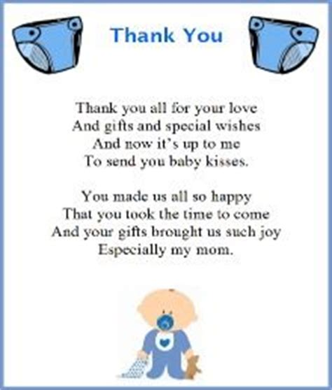 Thank You To Coworkers For Baby Shower Gift by Thank You Poem From Baby Boy Shopping Ideas