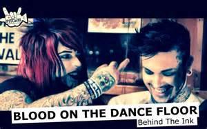 Dahvie Vanity Tattoos Blood On The Dancefloor Behind The Ink W Dahvie Vanity