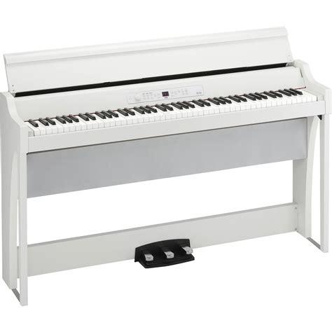 Korg Piano Digital Lp180 Wh White korg g1airwh g1 air digital piano with bluetooth white
