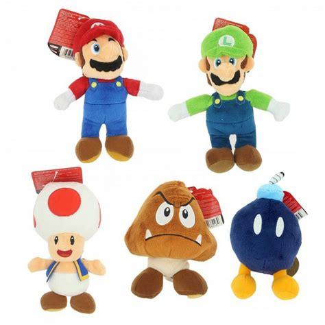 Mario Bros 15 plush mario bros u 15cm character you choose