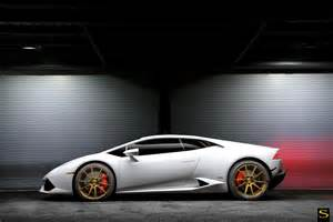 White Lamborghini Huracan Lamborghini Huracan Savini Wheels