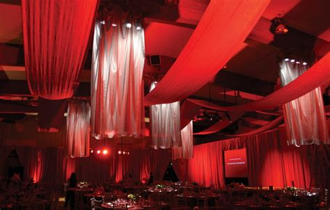 party drapes for rent event curtains from rose brand
