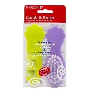 Pigeon Comb Brush By Akifa Shop pigeon comb and brush set baby
