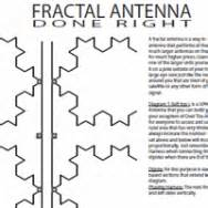 Fractal Tv Antenna Template by Fractal Antenna For Tv On Steroids 187 Jeffjamesphoto