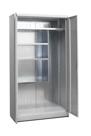 armadietti porta scope armadi metallici da esterno quot alti quot tipo zincoverniciati