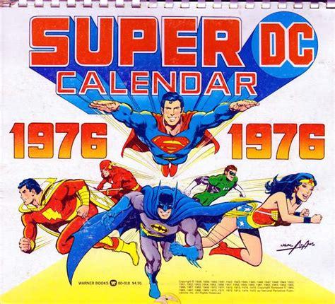 Dc Comics Calendar The Dc Universe Calendar