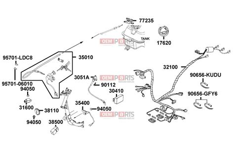 kymco scooter wiring diagram wiring diagrams