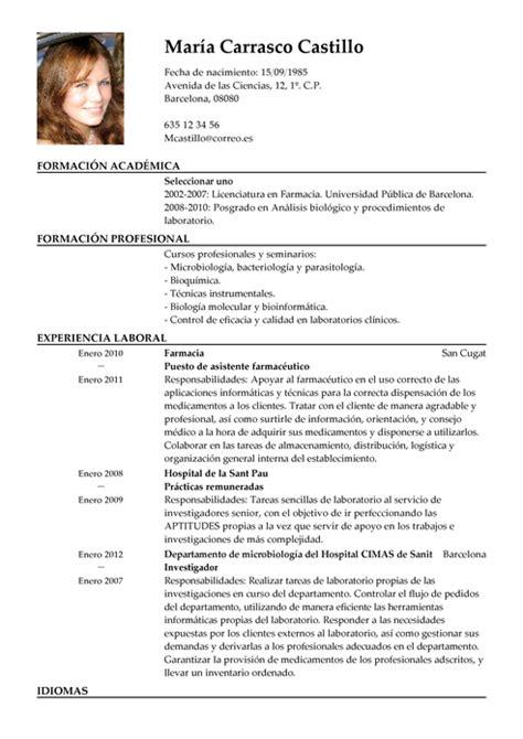 Modelo Curriculum Quimico Farmaceutico Modelo De Curr 237 Culum V 237 Tae T 233 Cnico De Farmacia T 233 Cnico De Farmacia Cv Plantilla Livecareer