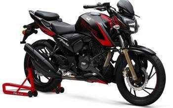 Bike Modification In East Delhi by Tvs Apache Rtr 200 4v Gets A Custom Made Fairing In