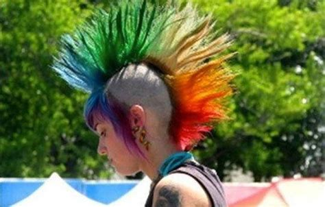 My Dad and the Girl with the Rainbow Spiked Hair   Humor Times, Humor Times