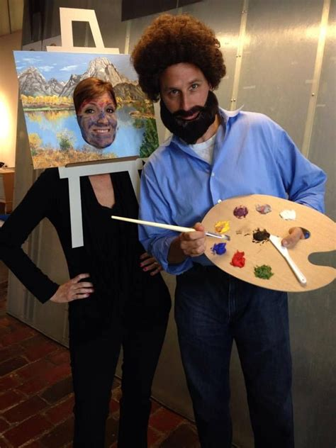bob ross painting costume 119 best artistic costumes images on