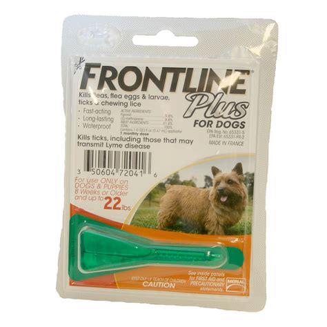 frontline plus for dogs reviews frontline plus flea tick for dogs single dose