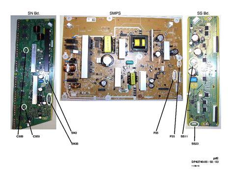 sanyo dp chassis p  jhf sm service manual