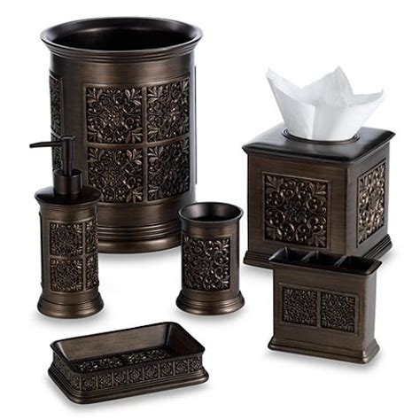 india ink bathroom accessories india ink imperial bath ensemble in tuscan gold bed bath