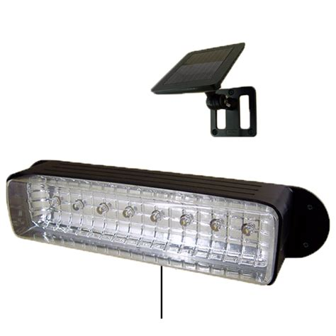 8 Led Light Fixture 8 Led Solar Powered Outdoor Garden Deck Patio Shed Stair Barn Wall Light Fixture
