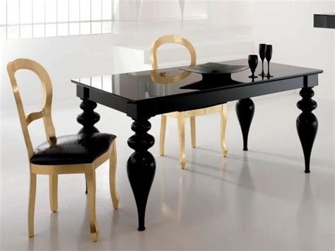 modern black dining tables contemporary furniture
