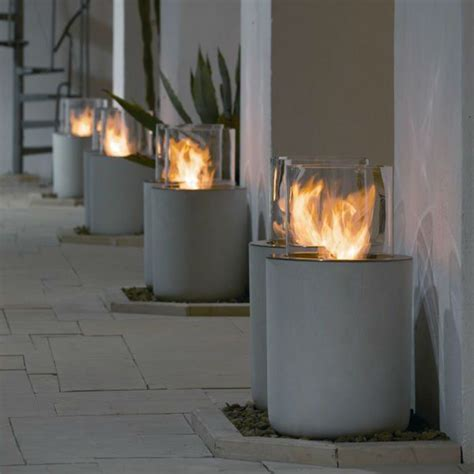 glass outdoor fireplace best 25 ethanol fireplace ideas on bioethanol