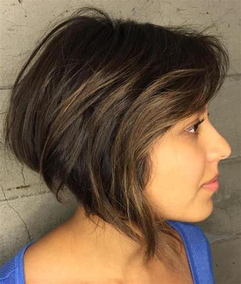 short hairstyles brown hair round face 50 cute looks with short hairstyles for round faces