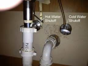 how to remove a bathroom cabinet vanity shutoff water