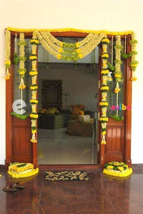 simple flower decoration  villa  housewarming