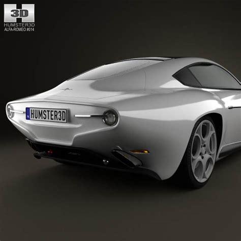 alfa romeo disco volante touring 2013 3d model humster3d