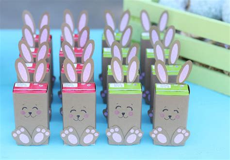 Easter Egg Decorations by Easter Bunny Juice Boxes Diy Evite