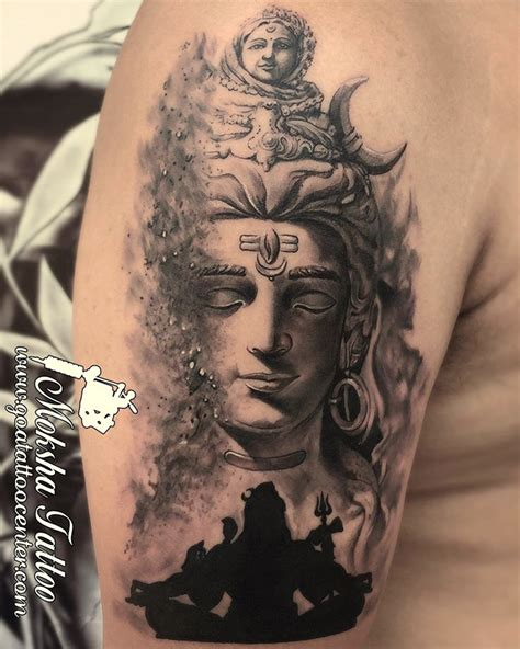 shiva tattoo shiva done by mukesh waghela at moksha