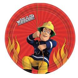 fireman sam cake icing image party started