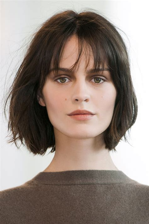 low maintenance hair for double chin 10 low maintenance lob length cuts we love lob wispy