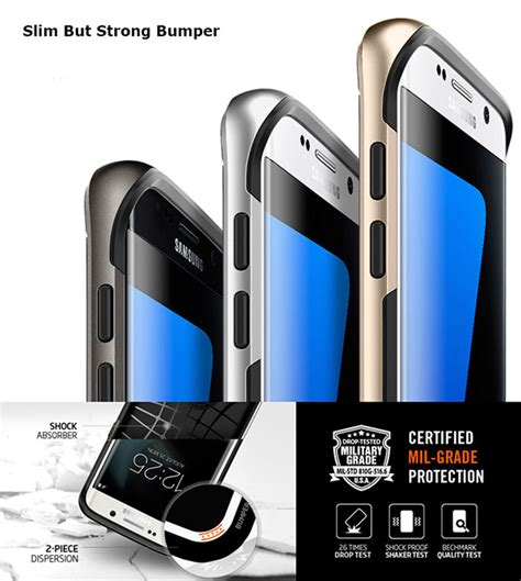 Spigen Samsung S7 Flat Neo Hybrid Series spigen neo hybrid cell mobile phone cover skin for
