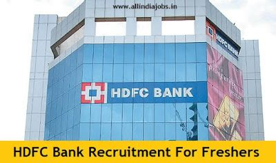 Hdfc Bank For Mba Freshers by Hdfc Bank Recruitment 2017 Clerk Po And So Vacancies