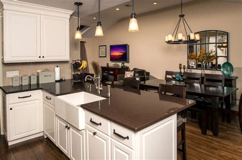 peninsula kitchen designs pros and cons of the kitchen peninsula in stock kitchens