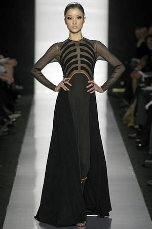 Ralph For Fall 2007 by Chado Ralph Rucci Fall 2007 Dress Who Wear
