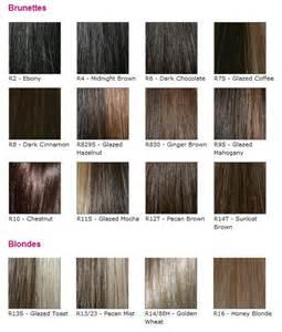 raquel welch color chart